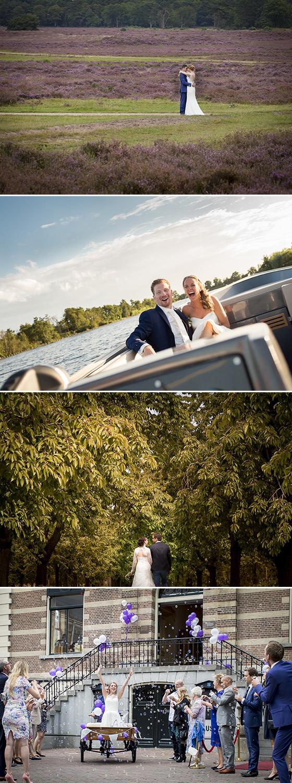 mooie locaties voor trouwfoto's