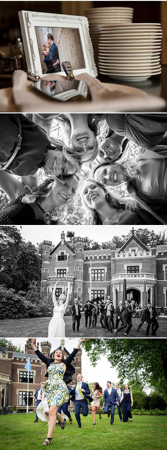 trouwfotograaf bruidsfotograaf t gooi, kasteel haffelaar barneveld