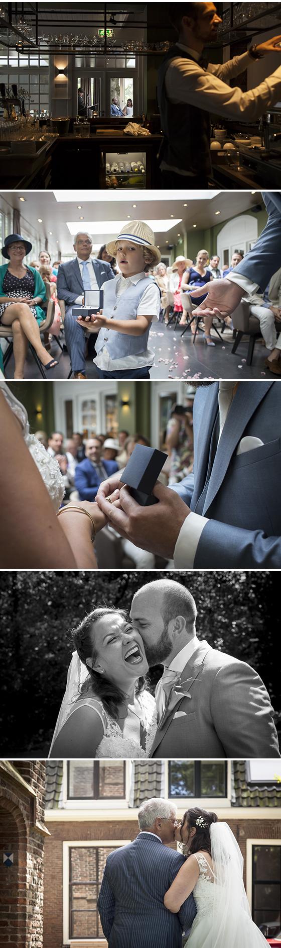 trouwen in de hoefslag bosch en duin, bruidsfotograaf hilversum