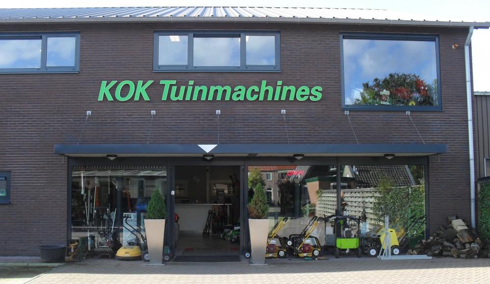 Kok Tuinmachines - Dealer Midden-Nederland