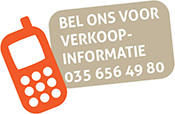 Bel ons voor verkoopinformatie: 035 656 49 80