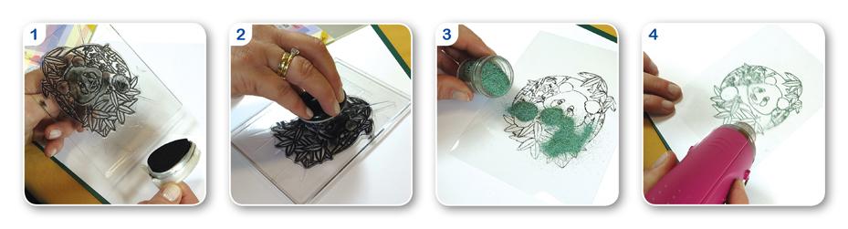 geen - Self-adhesive Foil & Acetate :: JEJE Produkt