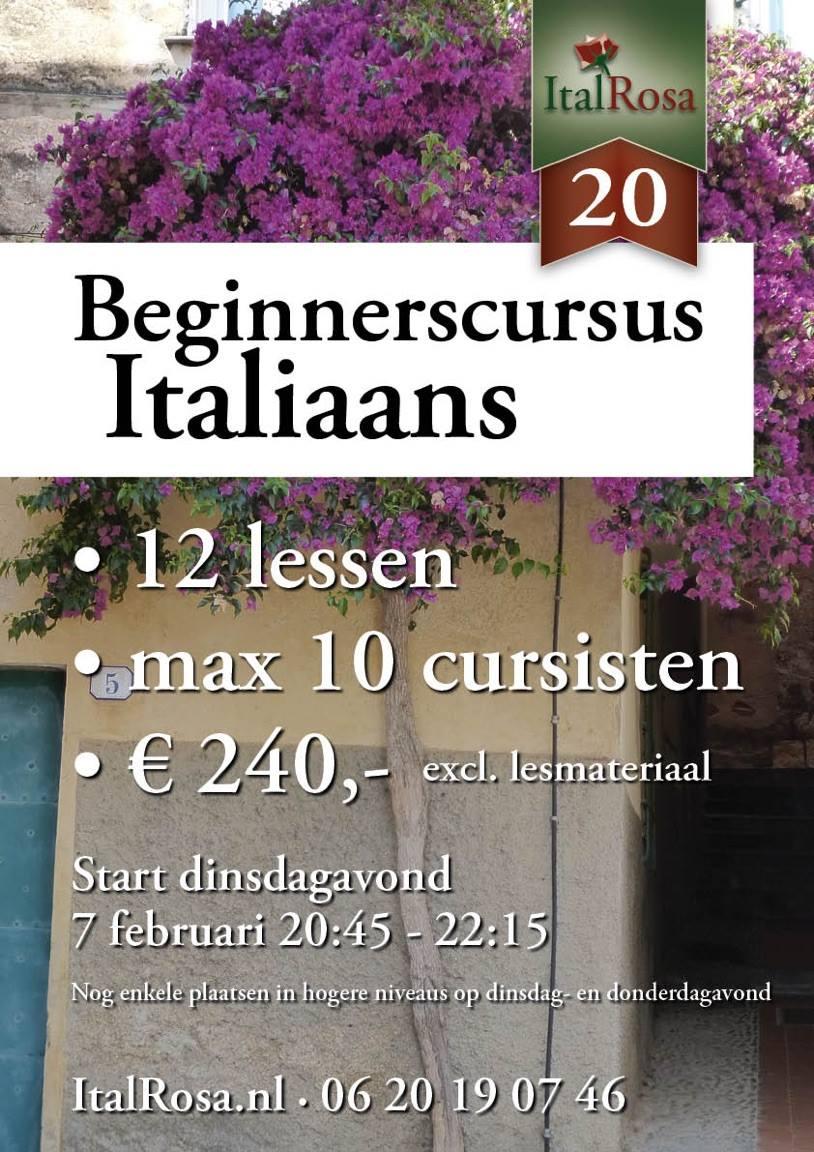 Avondcursus Italiaans Hilversum